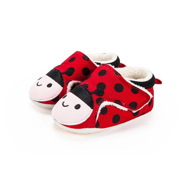 歌瑞家女婴小瓢虫宝宝鞋红