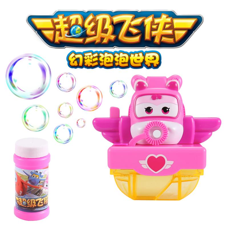 美高乐-趣味泡泡玩具(口吹)-超级飞侠系列(款式随机)
