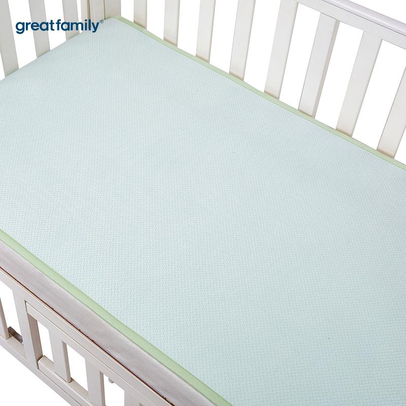 歌瑞家A类绿男女宝宝竹纤维床席混码