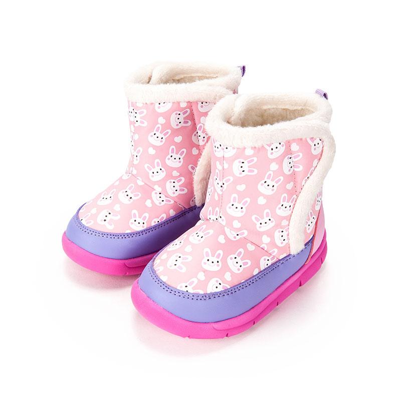 歌瑞家女婴宝宝靴粉