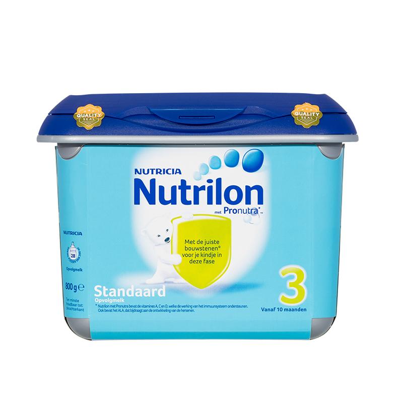 荷兰牛栏Nutrilon--配方奶粉3段(10-12月)800g/盒