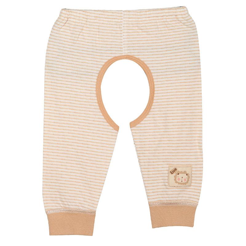 歌瑞贝儿A类男女婴双层提花开档裤3色可选
