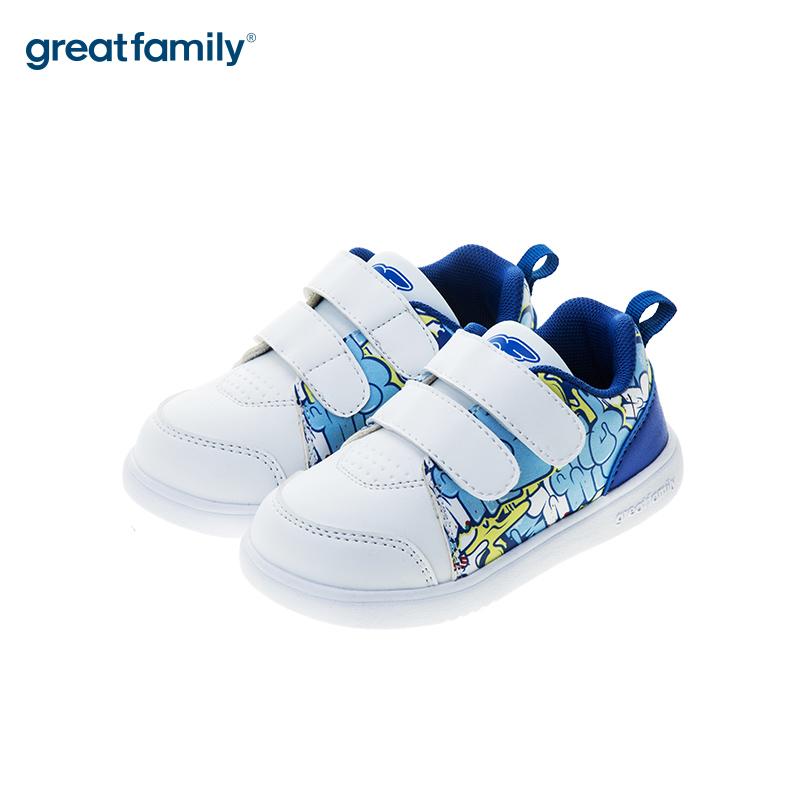 歌瑞凯儿(新)男婴滑板鞋GK183-005SH白14.5CM双