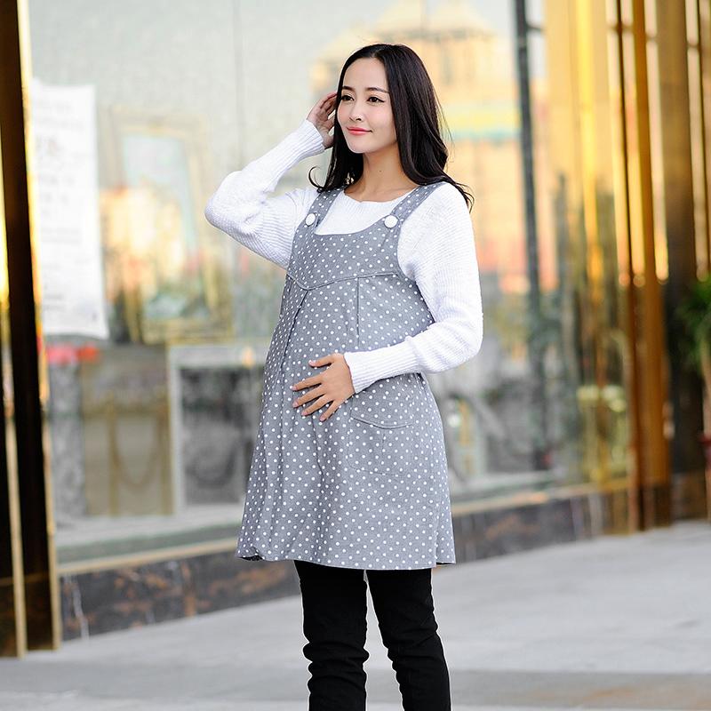 歌瑞妈妈--蓝色明珠银纤维防辐射裙