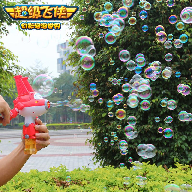 美高乐泡泡玩具(手摇)超级飞侠系列(款式随机)