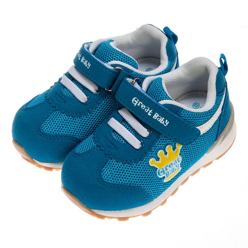 歌瑞贝儿男婴运动鞋GB153-009SH蓝15.5cm双
