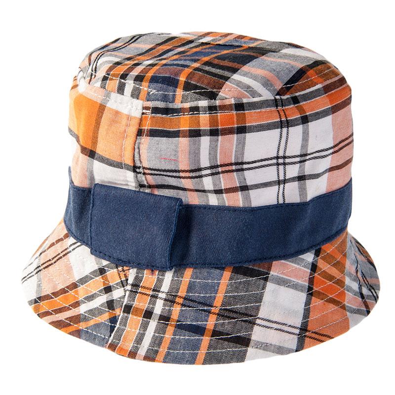 歌瑞凯儿盆帽GK152-013A格子男50