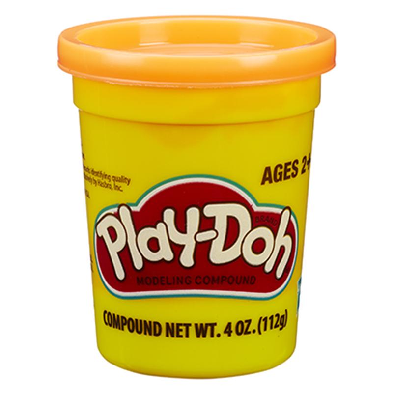 孩之宝(Hasbro)培乐多单杯装新版-橙色