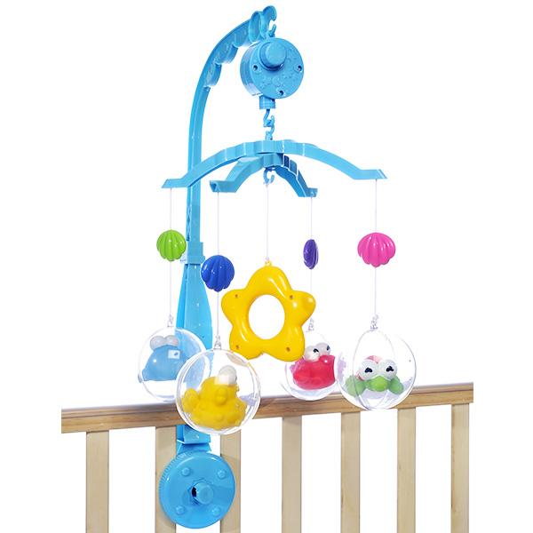 星月海宝宝床铃帮助宝宝入睡