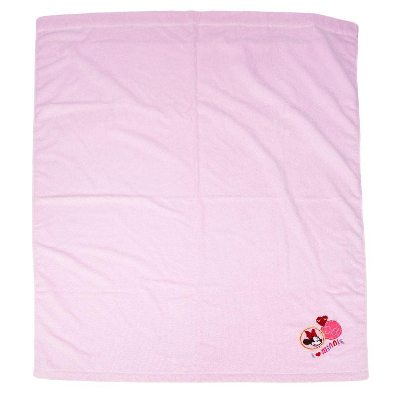 Disney梦想毛巾被-米妮110*140 粉色