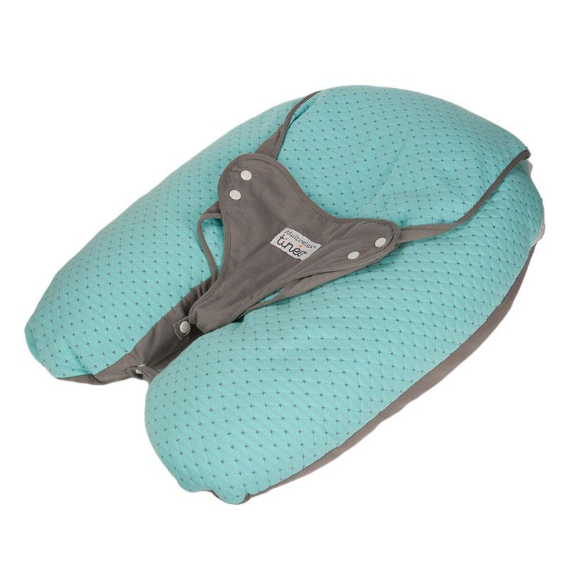 Candide-tineo系列法国原装进口Multirelax多功能孕婴抱枕蓝色
