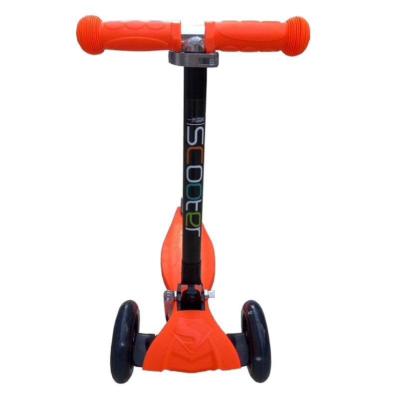 一米高科儿童三轮折叠滑板车(橘色)