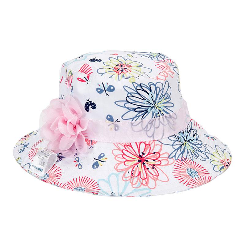 歌瑞凯儿女童花朵盆帽GB161-046A花色50cm顶