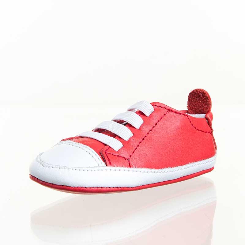 Old soles澳大利亚品牌婴幼儿炫彩牛皮机能鞋#030红127/56