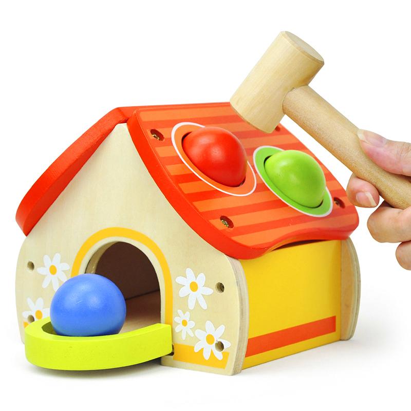 特宝儿(Topbright)太阳小屋敲打台 阳光木屋 敲打玩具(18个月及以上适用)6947