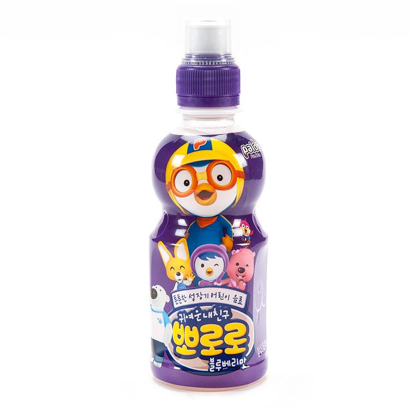 啵乐乐蓝莓味饮料235ml瓶