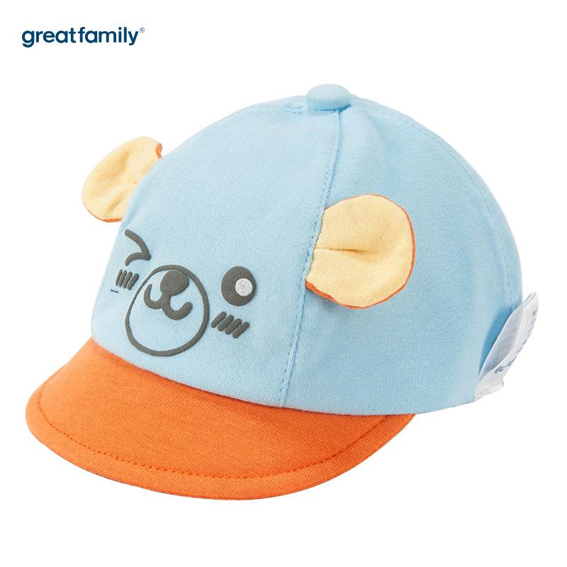 歌瑞家(Greatfamily)A类男童蓝色棒球帽