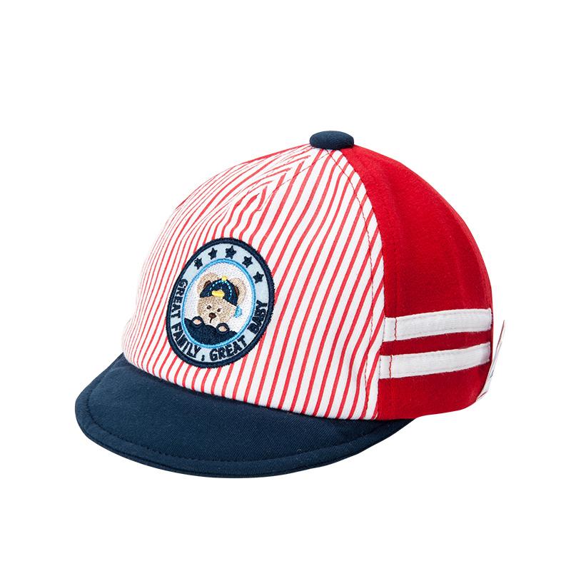 歌瑞家男童红色棒球帽
