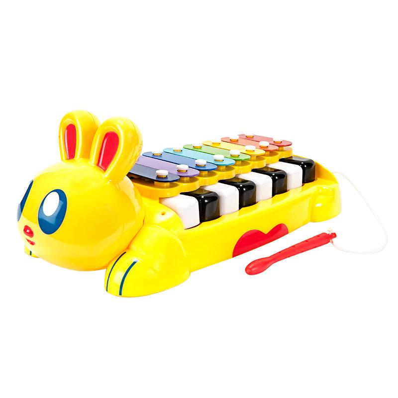 字母-动物音乐敲击琴