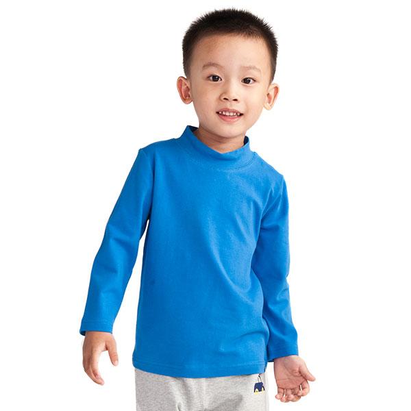 歌瑞凯儿(新)--男童炫彩简单百搭长袖T恤GK133-199TA蓝80