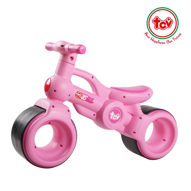 【乐海淘】台湾TCV儿童旋风滑步车V100 浅粉红/粉红 海外直邮