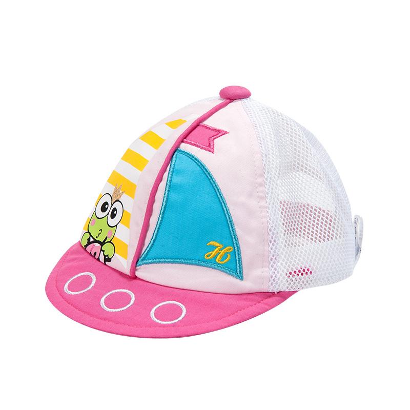 歌瑞家女童粉色网眼棒球帽