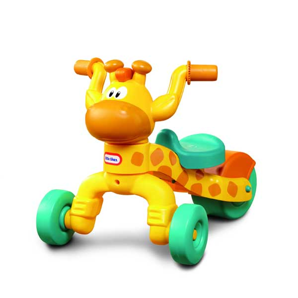Littletikes美国小泰克长颈鹿脚踏车扭扭车滑行车