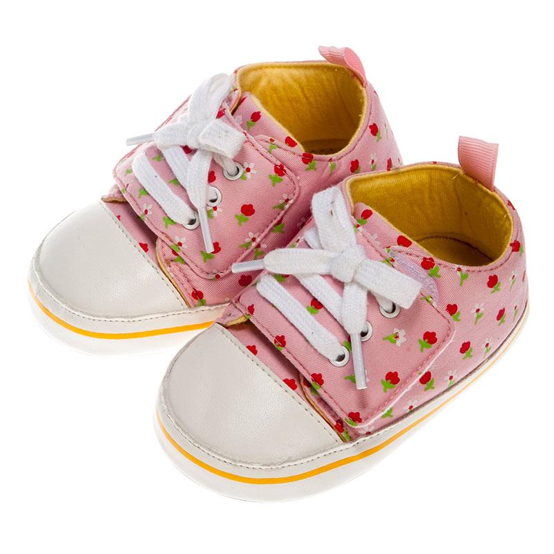 歌瑞贝儿女婴小花宝宝鞋GB153-004SH粉12cm双