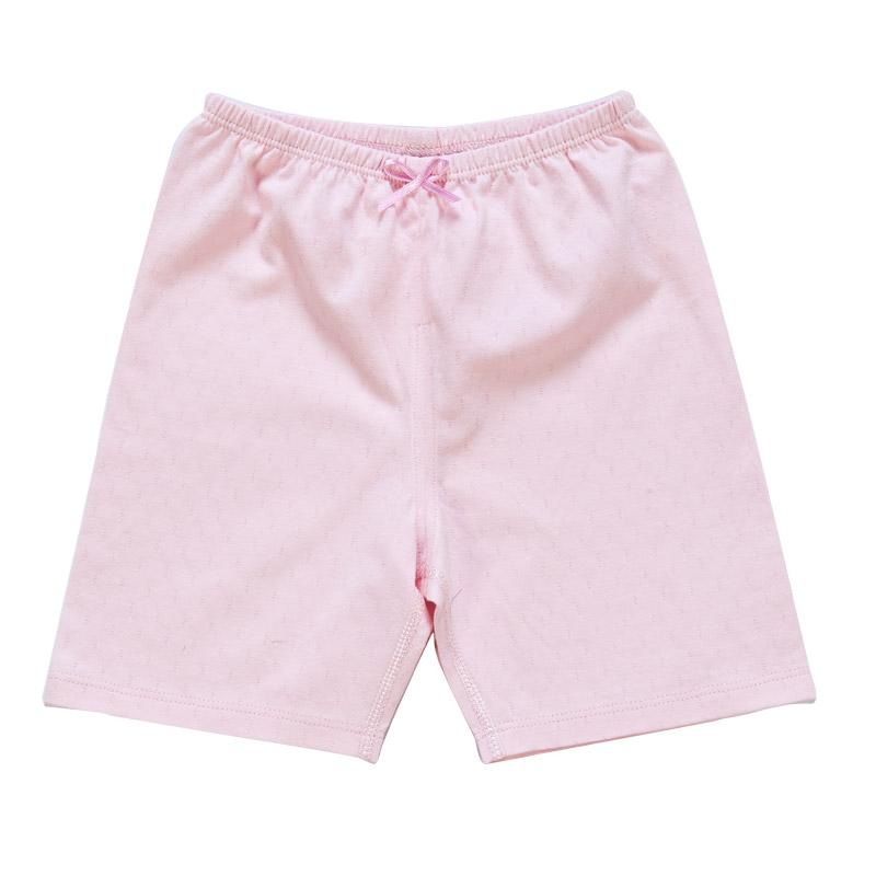 歌瑞贝儿A类女童粉色纯棉短裤