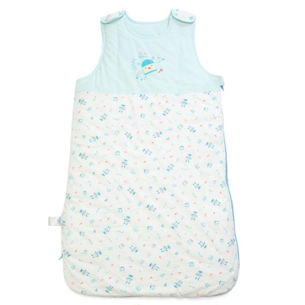 歌瑞贝儿(新)--机器宝宝针织马甲睡袋小号18085cmGB134-813混色小号