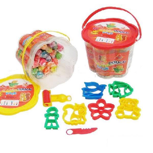 培培乐24色彩泥儿童益智模具玩具橡皮泥手工制作
