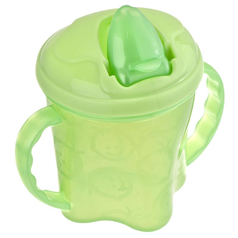 英国韦特儿Vital基础带把手水杯200ml绿色