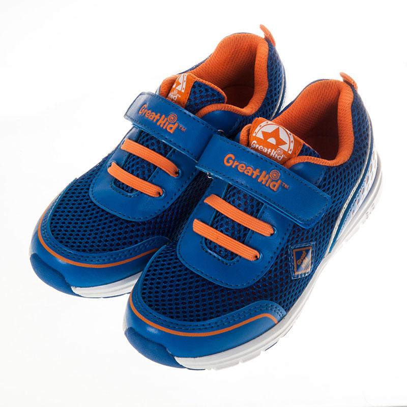 歌瑞凯儿休闲运动婴儿鞋蓝16码GK151-013SH