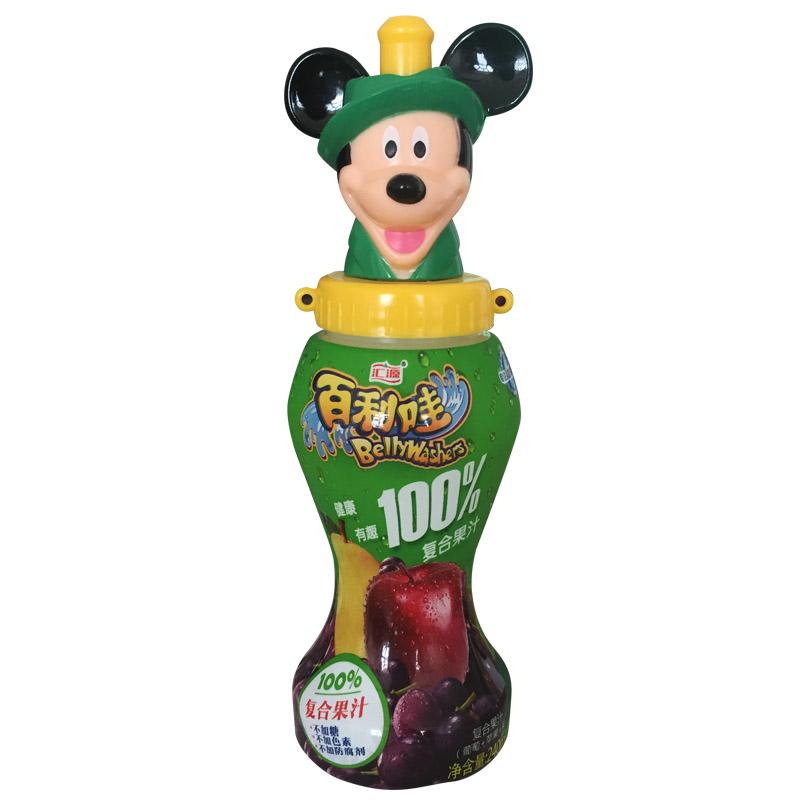 汇源百利哇100%复合果汁240ML/瓶