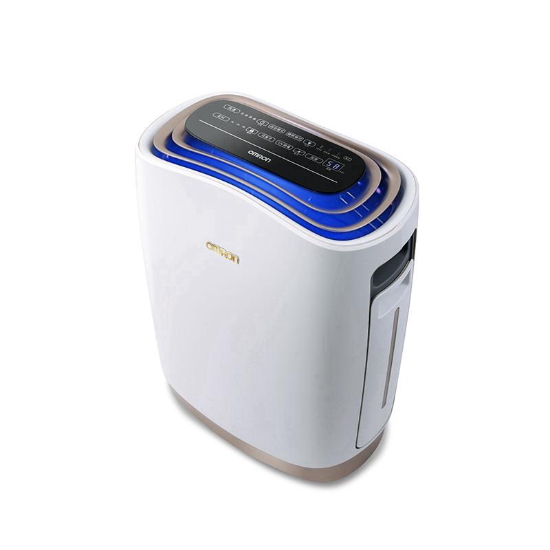 欧姆龙OMRON空气净化器 HAC-8321  加湿除异味  强效除菌  去除甲醛PM2.5  2016年全新上市,符合新国标标准,尊享三年质保
