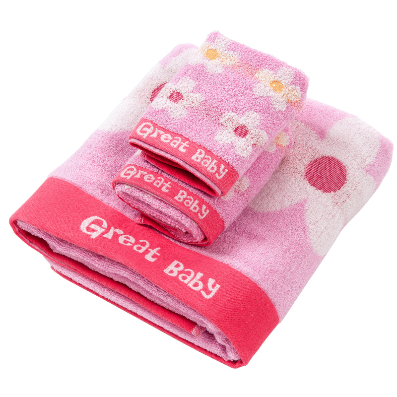 歌瑞家greatfamily毛巾套装礼盒花儿朵朵