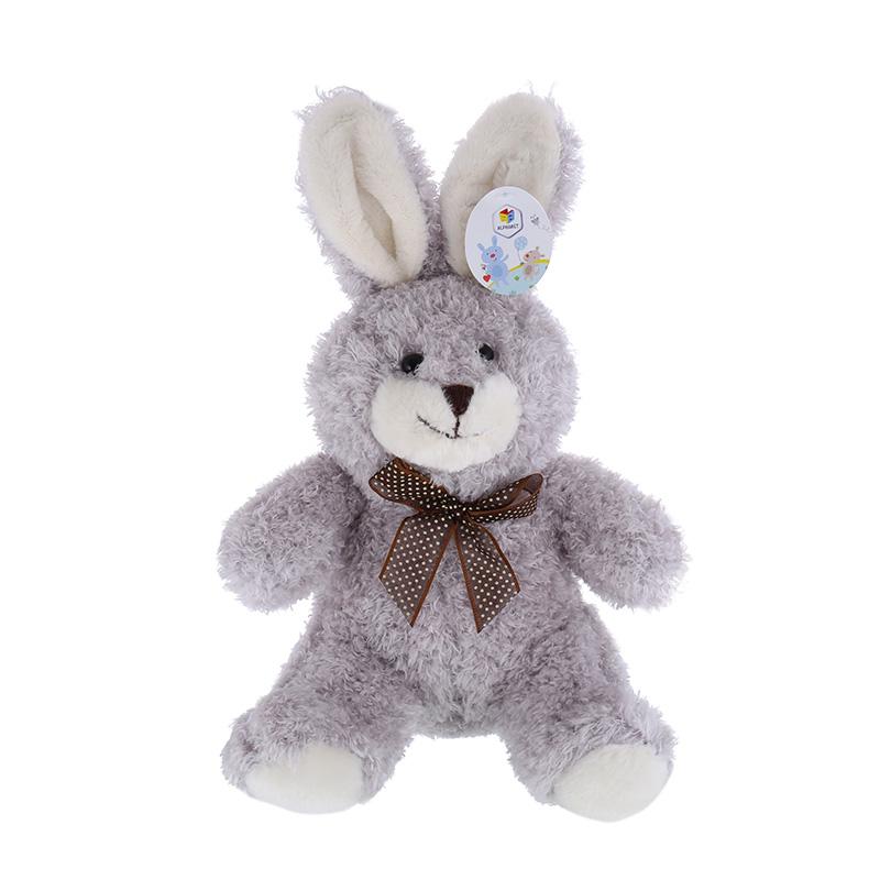 字母(ALPHABET)26cm灰兔