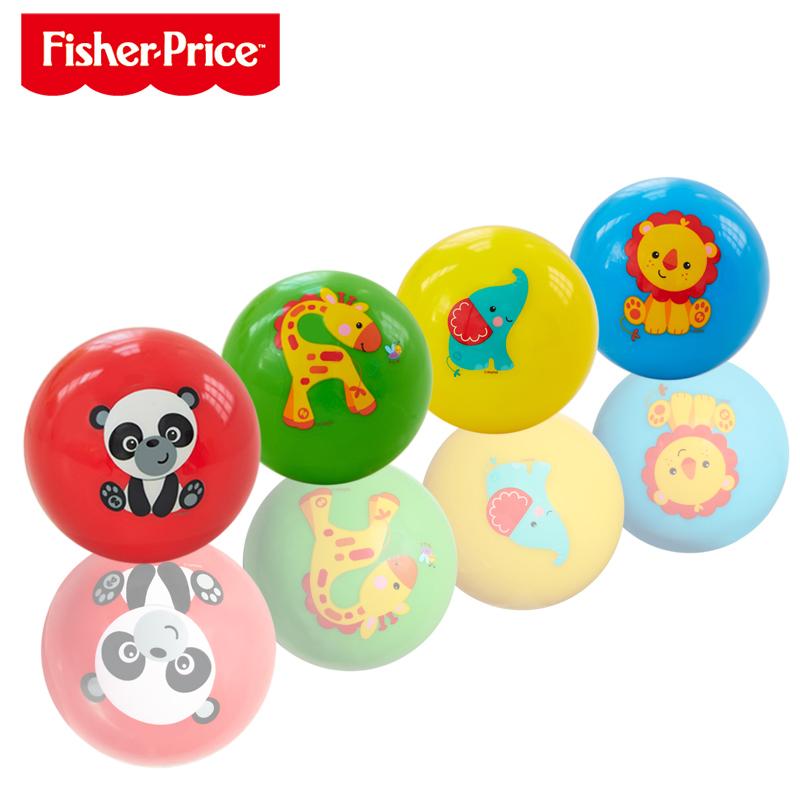 费雪(FisherPrice)3寸宝宝初级训练球两支装颜色随机