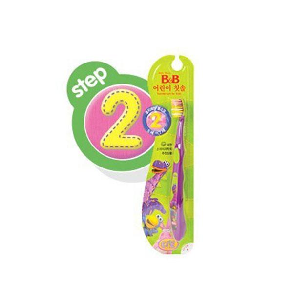 保宁B&B韩国进口宁幼儿牙刷2阶段5至7岁