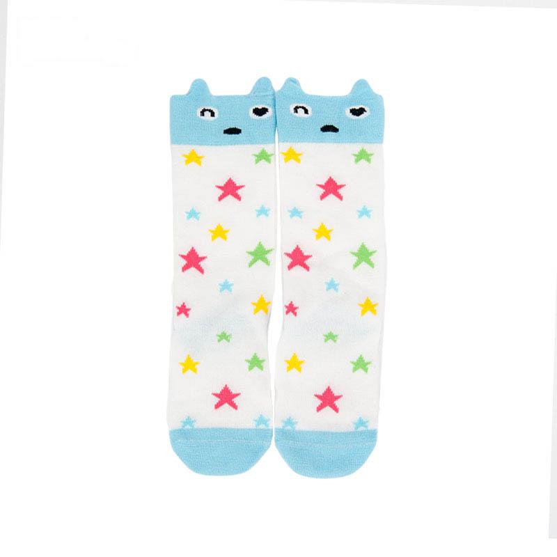 歌瑞贝儿女童卡通四季袜(1双装)