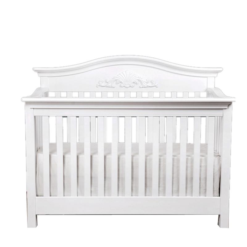 贝乐堡-圣瓦伦丁白色婴儿床