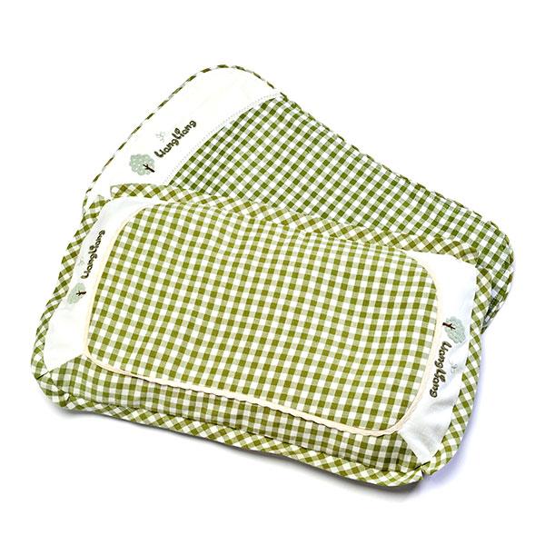良良--婴幼儿护型保健枕(2-6岁)(绿(绿-混码)