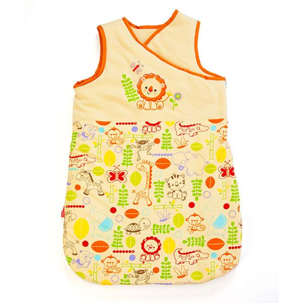 费雪(服纺新)--婴幼儿马甲睡袋KFP3F1BDBU5009黄混码
