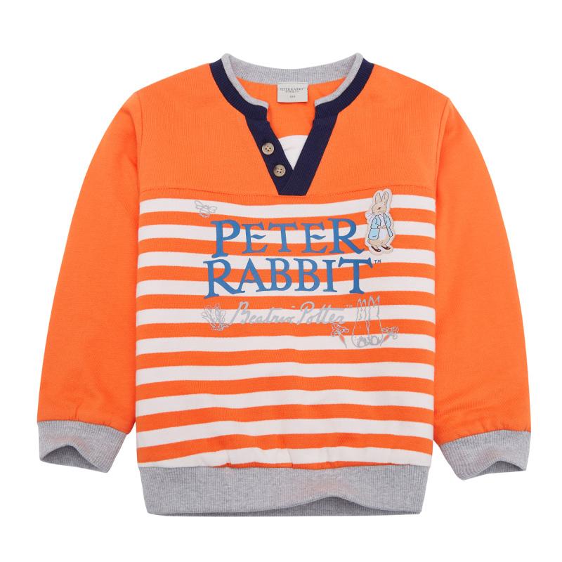 歌瑞家PeterRabbit--(比得兔)男童套头卫衣橙