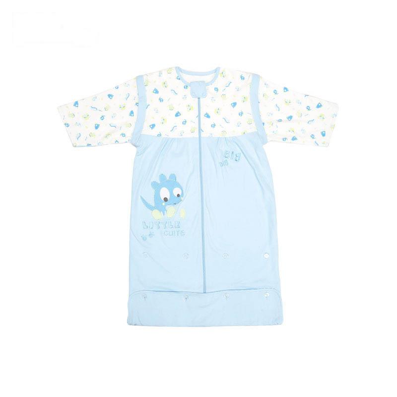 歌瑞贝儿双面布可脱袖成长型睡袋45*85+13cm蓝色