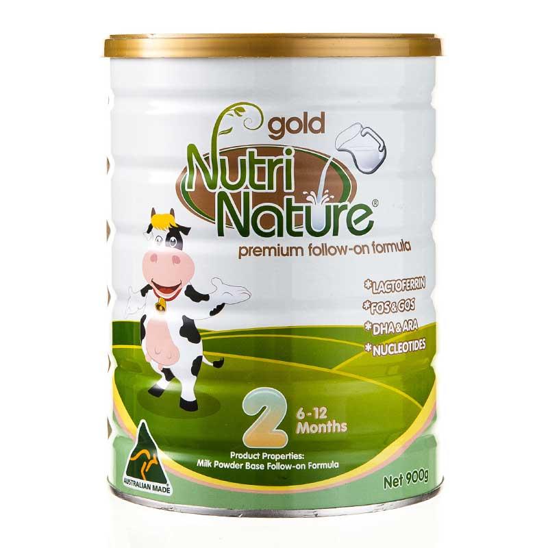 纽澈澳大利亚原装进口金装婴幼儿2段奶粉900g 乳铁蛋白 双益配方