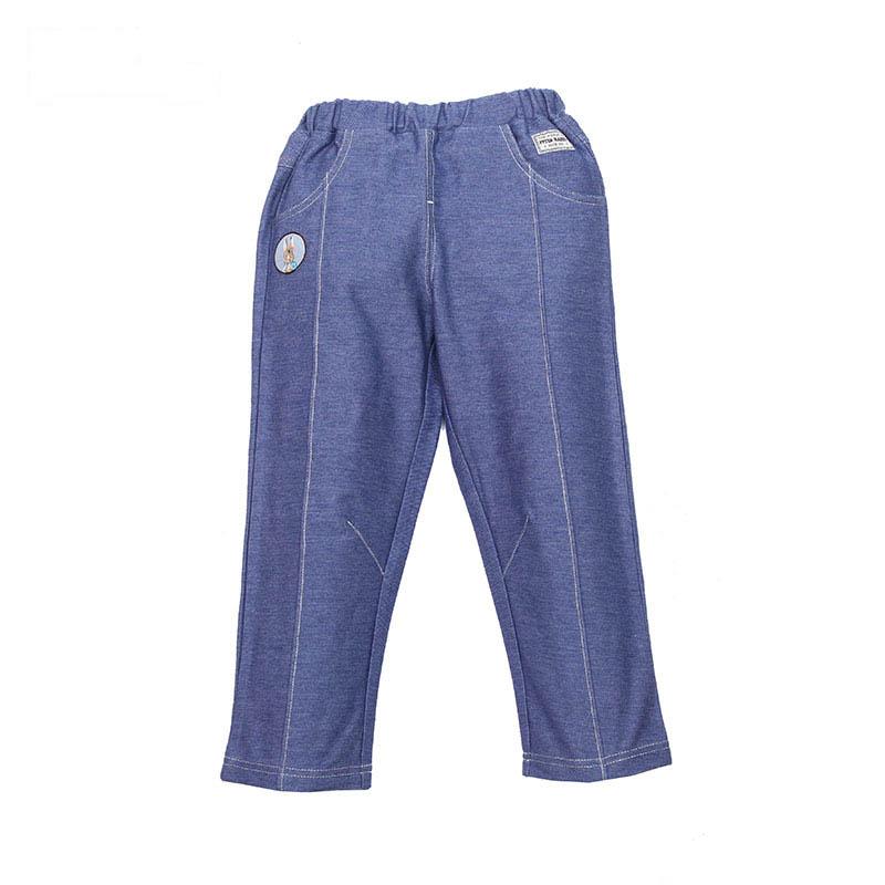 歌瑞家(比得兔)A类男童浅蓝色针织长裤