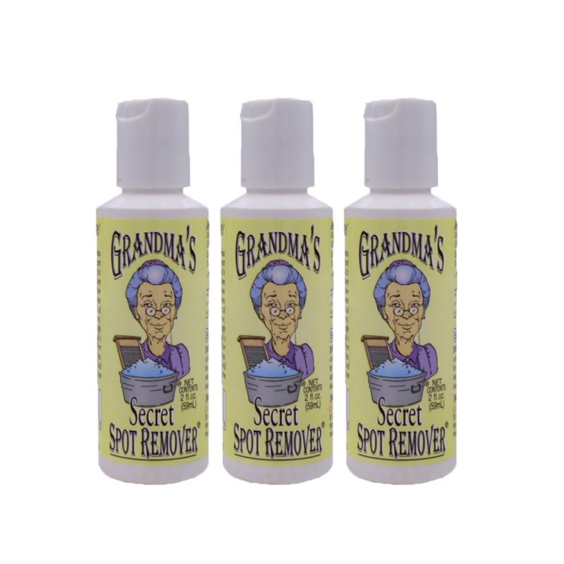 【美国直邮】Grandmas Secret老奶奶的秘密衣物去渍清洁剂 59ml*3瓶