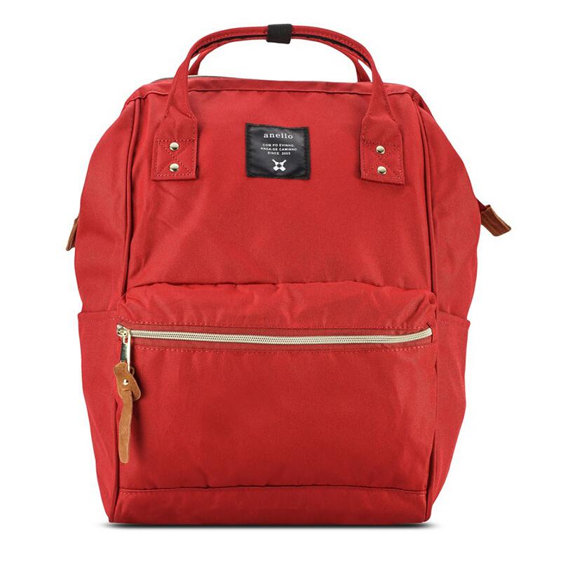 【全球购】日本anello大号双肩包AT-B0193A红色保税区直发