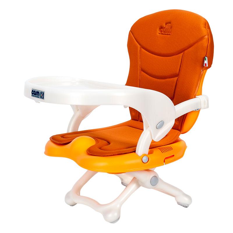CAM(意大利)原装进口多功能便携式婴幼儿餐椅-橙色